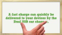 The Vority Duo31CC Dual USB Car Charger Will Keep Your Devices Charged