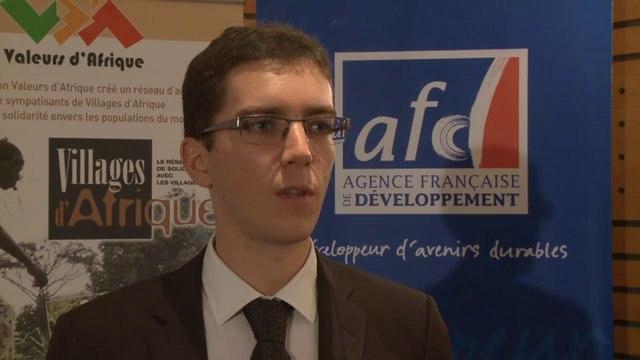 Interview Martin Fleury - Conférence investir dans les villages d'Afrique
