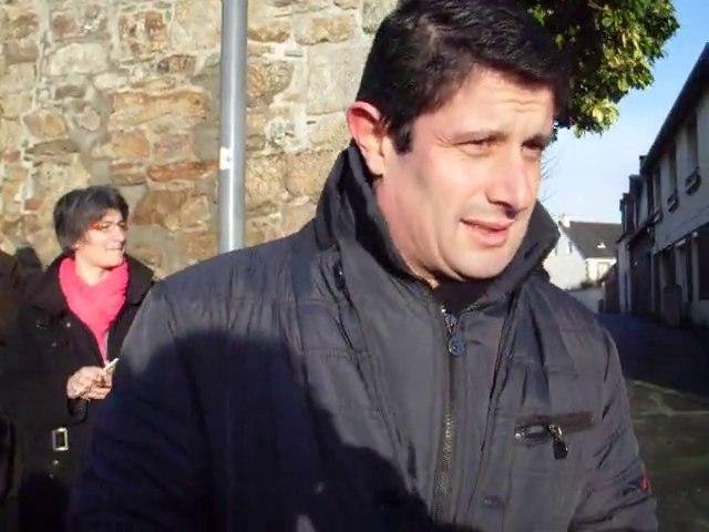 A la rencontre de M. Le Goff, candidat à la mairie de Guingamp
