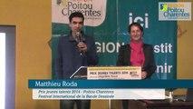 Interview de Matthieu RODA, lauréat 2014 du Prix Jeunes Talents Poitou-Charentes au Festival international de la Bande Dessinée d'Angoulême