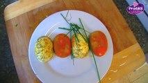 Cuisine - Comment préparer des œufs durs festifs - Entrée