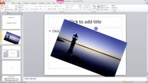 Lesson 04.13 Graphics Manipulation - MS PowerPoint by Microsoft Office Power Point 2010  free online video Training Tutorials Urdu and Hindi language