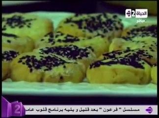بسكوت الباباز ودقيق الأرز - الشيف محمد فوزى - سفرة دايمة