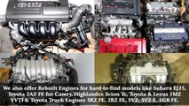 Japanese Engines Ready to be Shipped - video dailymotion