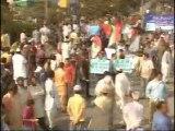 Part1 - MQM Expresses Solidarity With QeT Altaf Hussain (02 Feb 2014, M.A Jinnah Road)