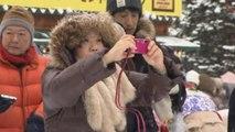 Japan Snow Festival: Amazing Sochi Olympics sculptures