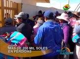 La huelga nacional indefinida acatada por los médicos del MINSA ha afectado al Hospital Carlos Monge Medrano