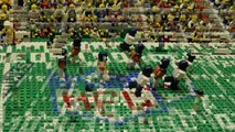 Super Bowl 2014: Seattle Seahawks destroy Denver Broncos – brick-by-brick video