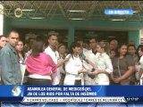Médicos del hospital JM de los Ríos protestan por falta de insumos en el centro asistencial