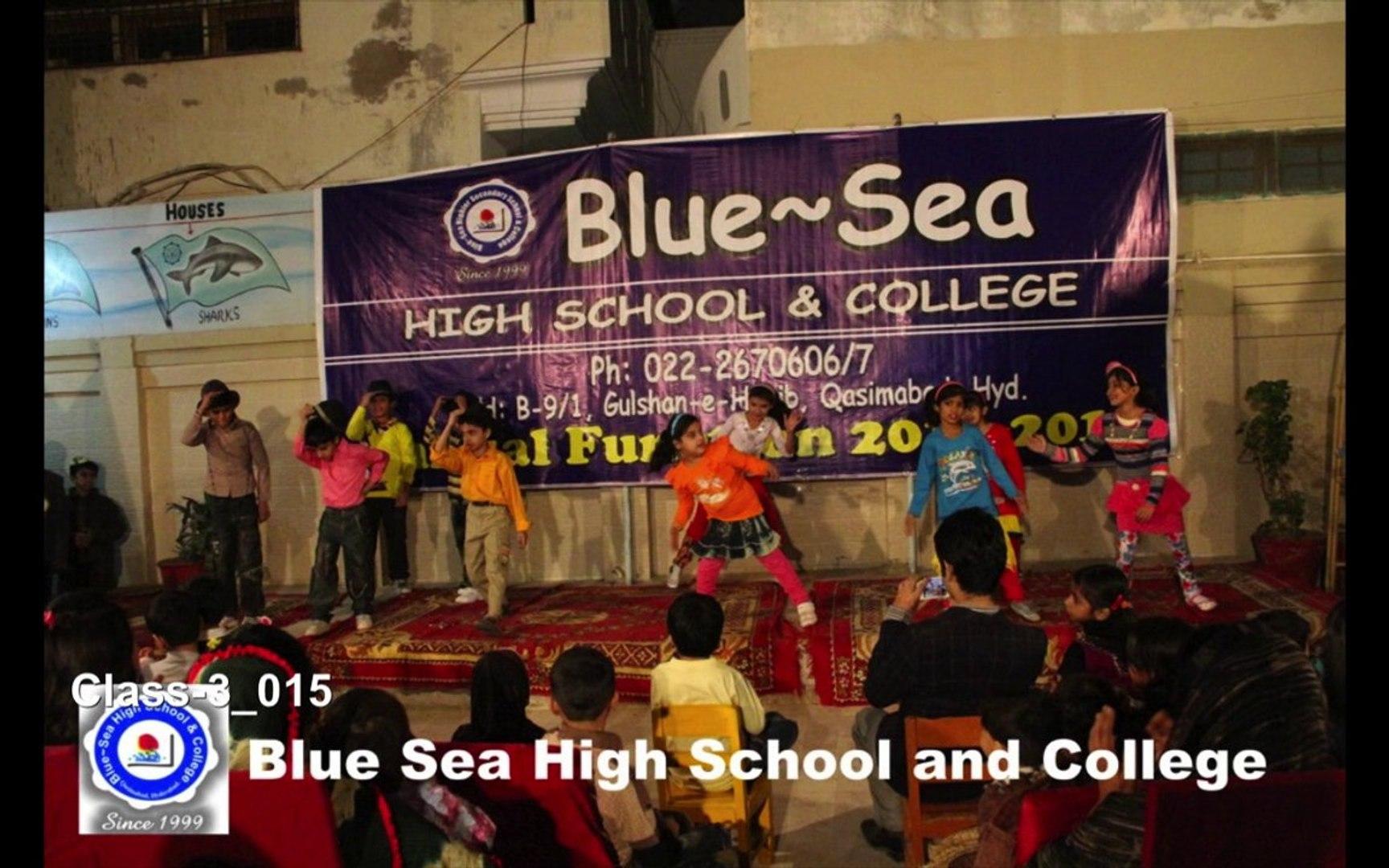 Blue Sea High School and College Class-3  jailhouse break elvis presley