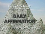 Zillionaire - Daily Affirmation - Law of Attraction