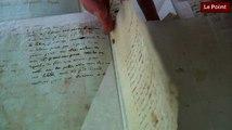 Les incroyables trésors de l'Histoire : les lettres d'amour de Camille Desmoulin à Lucile.