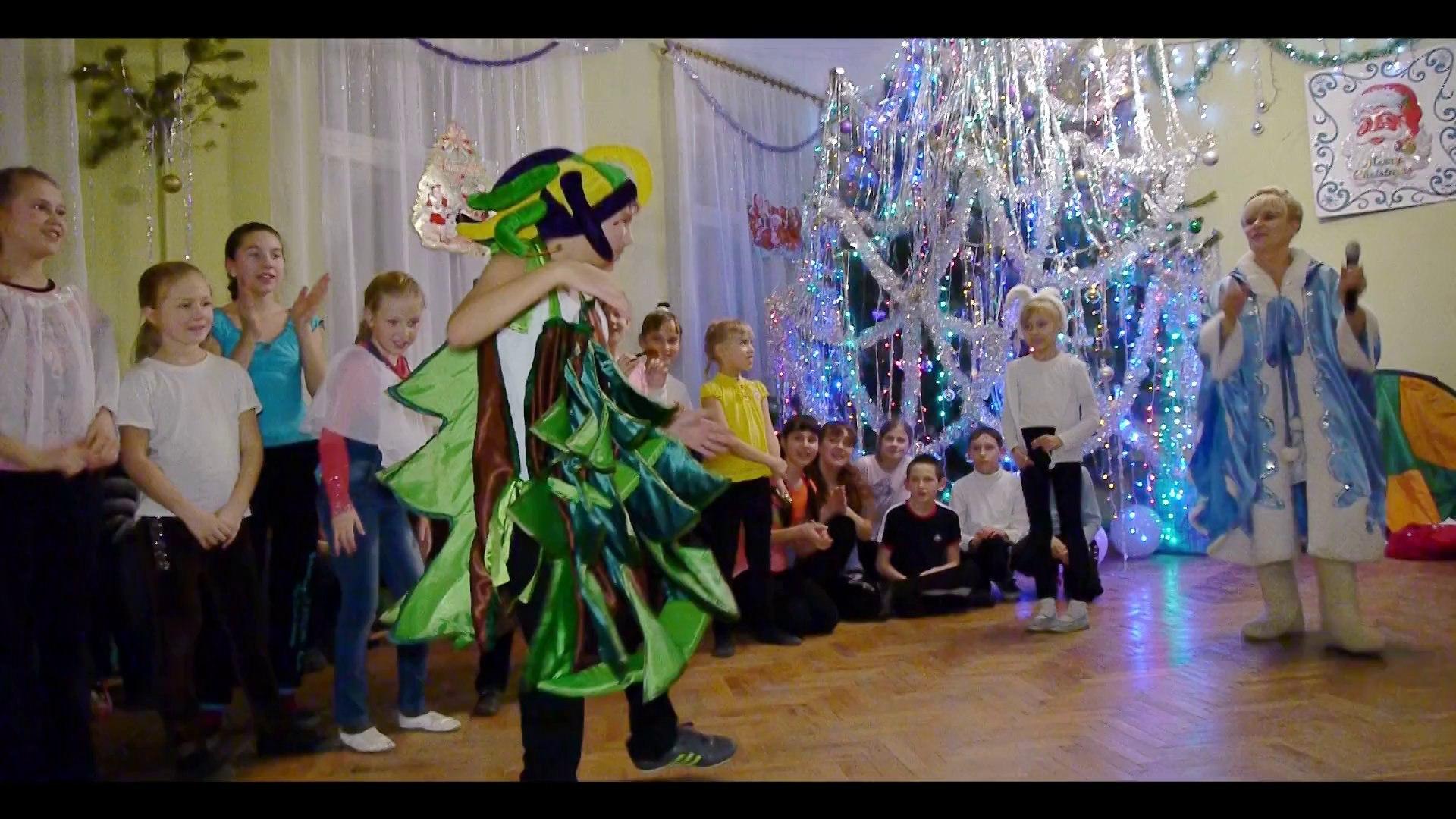 Новогодний капустник 2014 - Студия танца «FORCE»