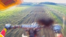 KTM 125 Dirt Bike Go Pro Action
