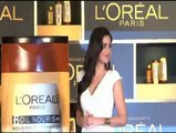 Katrina launches new Loreal products