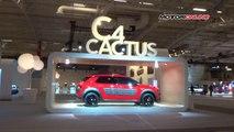 Citroën C4 Cactus, debutto a Parigi - Citroën C4 Cactus debut in Paris