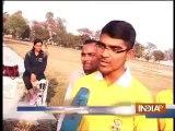 Amputee Arunima Sinha preparing for blade running
