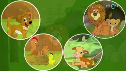 Baby Animals | Animated Song For Kids