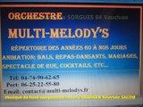 Orchestre de Variétés SORGUES 84 VAUCLUSE
