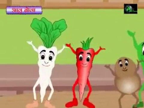 "Aloo Bola Mujhko Khalo ""Most Popular Nursery Rhymes"" In Hindi"