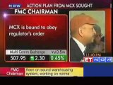 MCX is bound to obey regulators order FMC