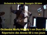 Orchestre de Variétés -Bourgoin-Jallieu -38-