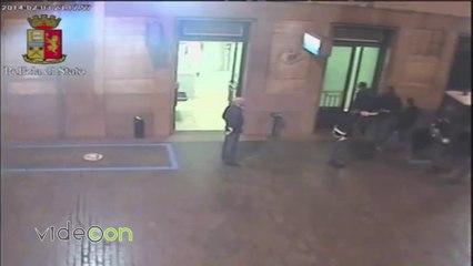 Video aggressione con machete nella metropolitana di Milano Centrale
