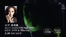 LIVE DVD & Blu-ray 「FEEL tour 2013」CM