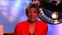 """""""C à vous"""" : Brigitte Fontaine décoiffe Anne-Sophie Lapix en direct"""