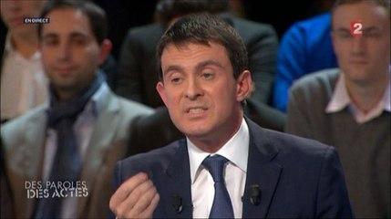 Valls parle de son interdiction de Dieudonné