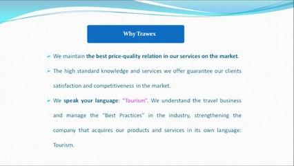 Trawex - Web Development Company, Online Travel Booking, Travel Reservation System