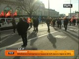 La CGT manifeste à Lyon