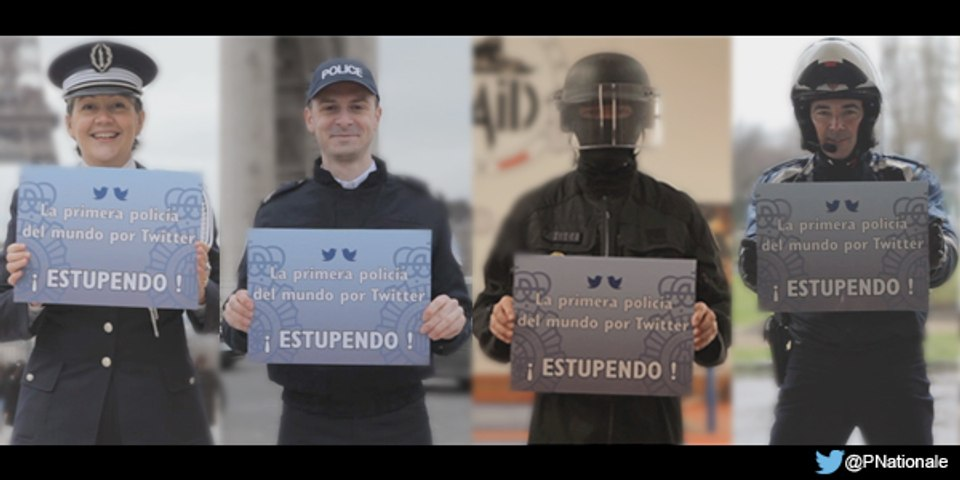 @policia - La primera del mundo por Twitter