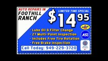 714-978-4145 ~ Approved Auto Repair Foothill Ranch
