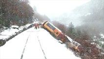 Déraillement d'un train touristique dans les Alpes-de-Haute-Provence