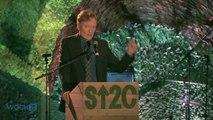 Conan O'Brien Mocks Jay Leno's Tonight Show Exit