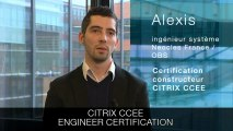 Orange - professional certification with Alexis