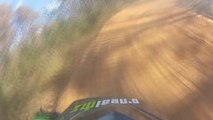 Dirt Bike Action - Learning The NCMP Track With Commentary