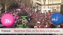 Le 18h de L'Opinion : Manif Pour Tous, un Tea Party à la française