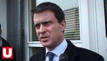 Manuel Valls en déplacement dans les Ardennes