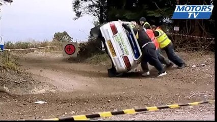 2013 Irish Forest Championship crash