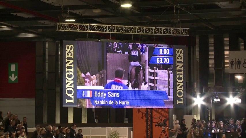 Parcours d'Eddy SANS vainqueur de l'Indoor Derby du Jumping de Bordeaux 2014.