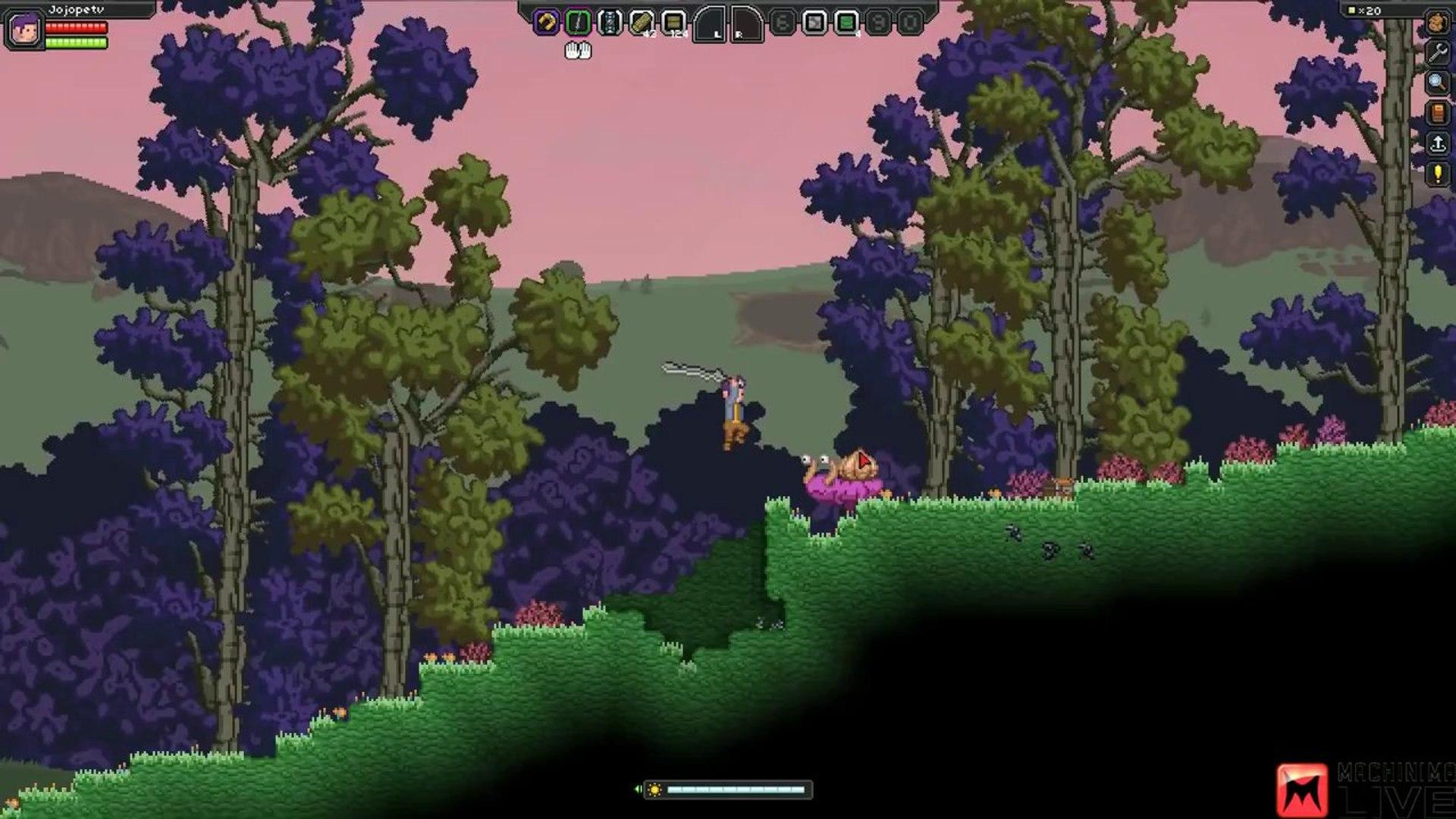 Starbound Gameplay Livestream (Beta Gameplay)