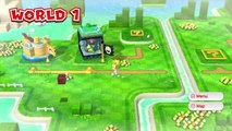 Super Mario 3D World Wii U Gameplay World 1-1 1-2 1-A 1080P