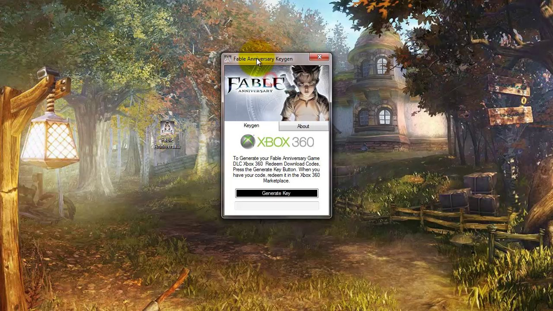 Free Fable Anniversary Code Download - Xbox 360 - WORKING*