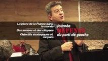 """Jean-Luc Melenchon :  Introduction à la """"Journée Défense du parti de gauche"""""""