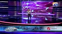 Pakistan Idol 2013-14 - Episode 19 - 11 Gala Round (Zamaad Baig)