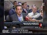 Sarkozy et les suporters