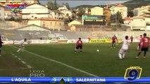 L'Aquila - Salernitana 1-1 HD   Highlights and Goals - Lega Pro Prima Div. Gir.B 23^ Giornata