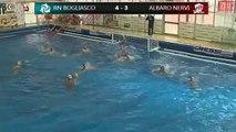 Pallanuoto, Bogliasco - Nervi- Bogliasco in gol ma....